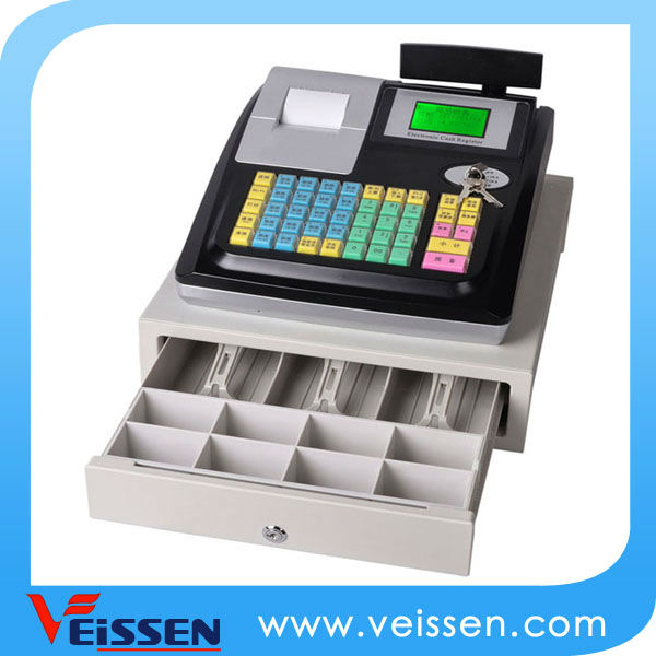 CE cash register for hair salon, 58mm printer with electronic journal