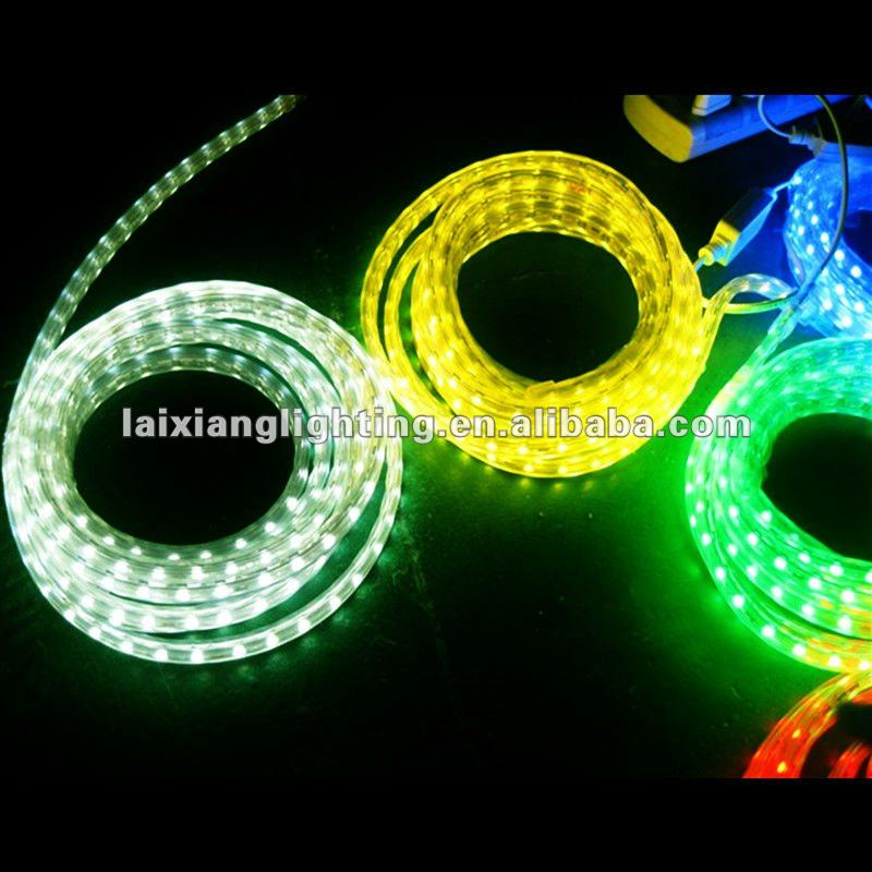 2012 high voltage 220V rgb led ribbon christmas lights