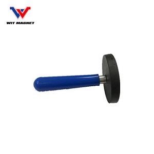 Rivestito di gomma al neodimio d88 magnete vaso di illuminazione della macchina fotografica staffa di supporto a ventosa Ha Condotto La base antenna apparecchio