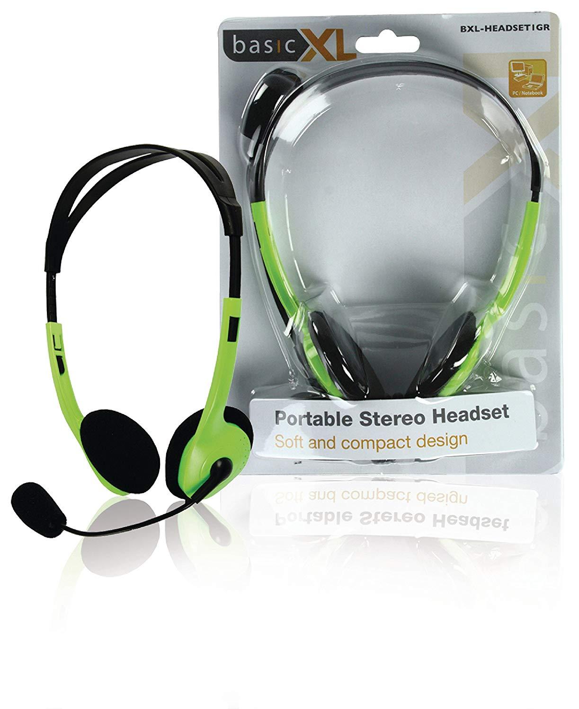 Logitech H110 Stereo Corded 3.5mm Plug Headset in Bulk Packaging