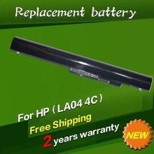 Laptop Battery For HP F3B96AA 728460-001 HSTNN-UB5M HSTNN-YB5M LA04 LAO4 TPN-Q130 G0R83PA Pavilion 14-d004ax