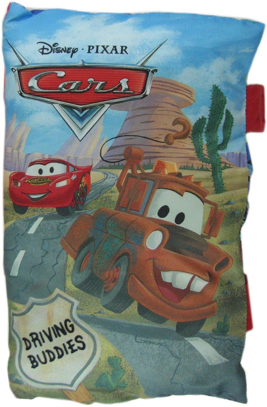 Disney Pixar Cars Tales from the Track: New Kid In Town Storybook Pillow