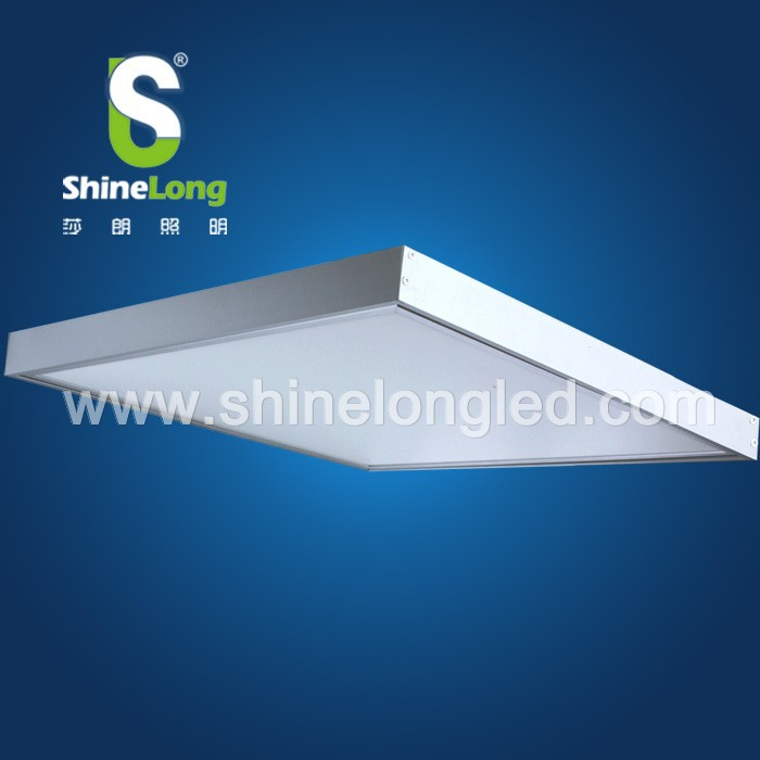 Embedded CE UL 40w 600*600 led panel light with installed suspension