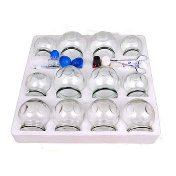 Explosion-proof glass cupping 12 cans