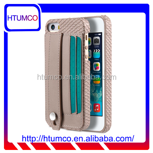 Fashionable Card Slot Premium Leather Case for Apple iPhone 5s / 5 / se