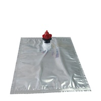 1l-25l oil liquid aseptic bag in box with butterfly valve