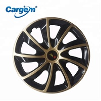 CARGEM Black 13 14 15 Inch Wheel Covers