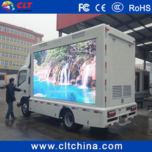 Mobile LED billboards truck of P10 outdoor trailer