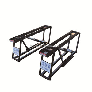 Hydraulic quick lift portable car lift