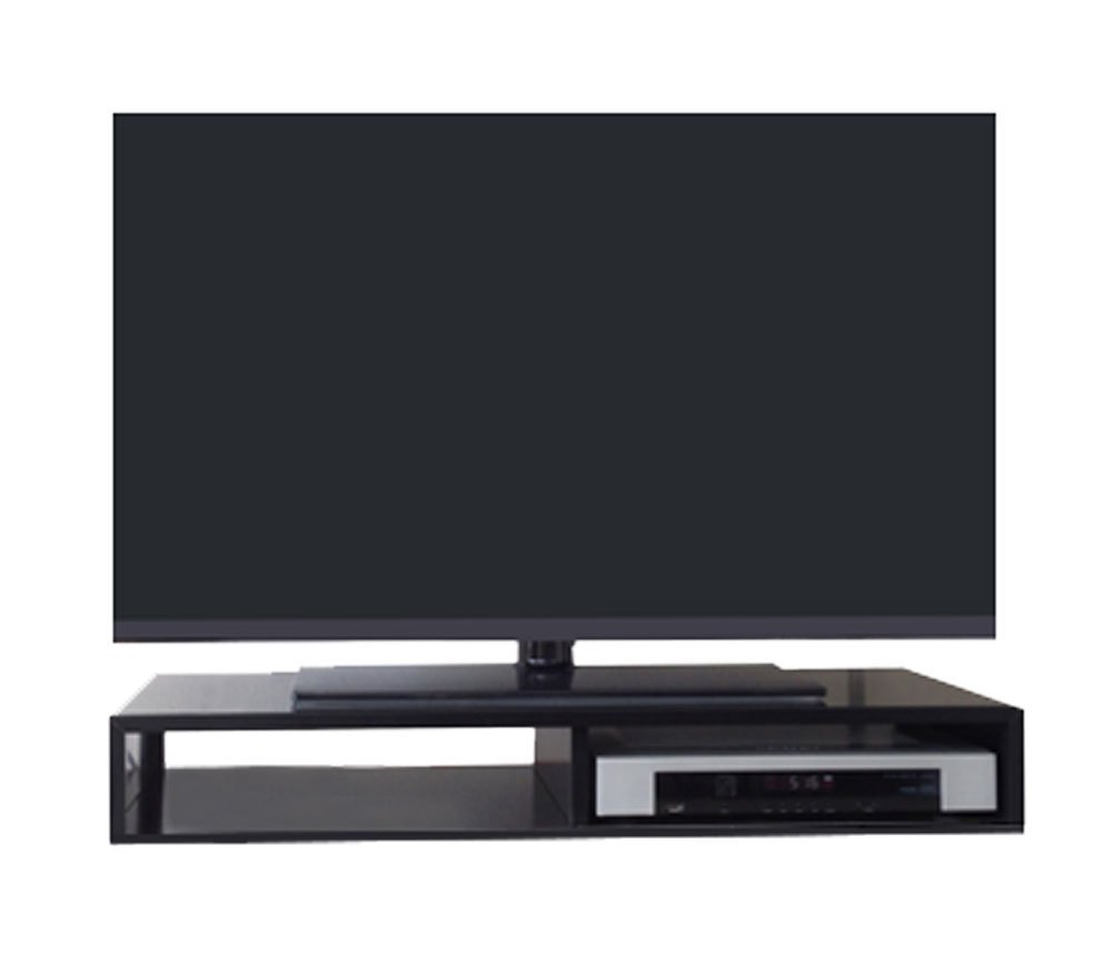 Get Quotations · RIZERvue | TV Stand for Flat Screen (Black) Tabletop (Up to 50\ Cheap Black 50 Tv Stand, find deals on line at