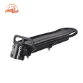 MTB Bike Bicycle Aluminum Alloy Rack Carrier Panniers Bag Carrier Adjustable Rear Seat Luggage Cycling Shelf