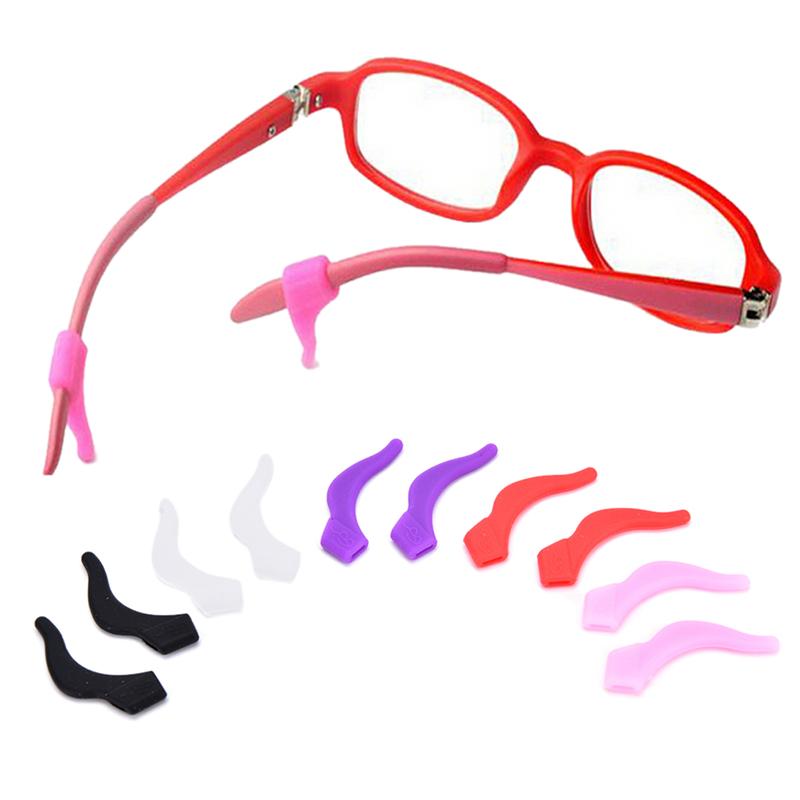 Anti Slip Temple Holder Spectacle Silicone Glasses Ear Hooks Tip Eyeglasses Grip