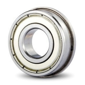 12x24x6mm Metal Double Shielded Flanged Ball Bearings F6901 F6901ZZ