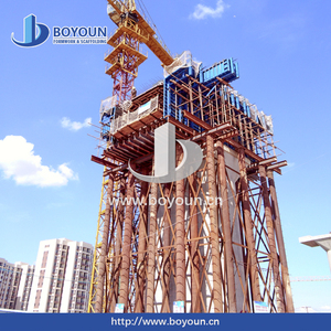 For highway cantilever concrete bridge hanging basket and form traveller steel formwork from Boyoun