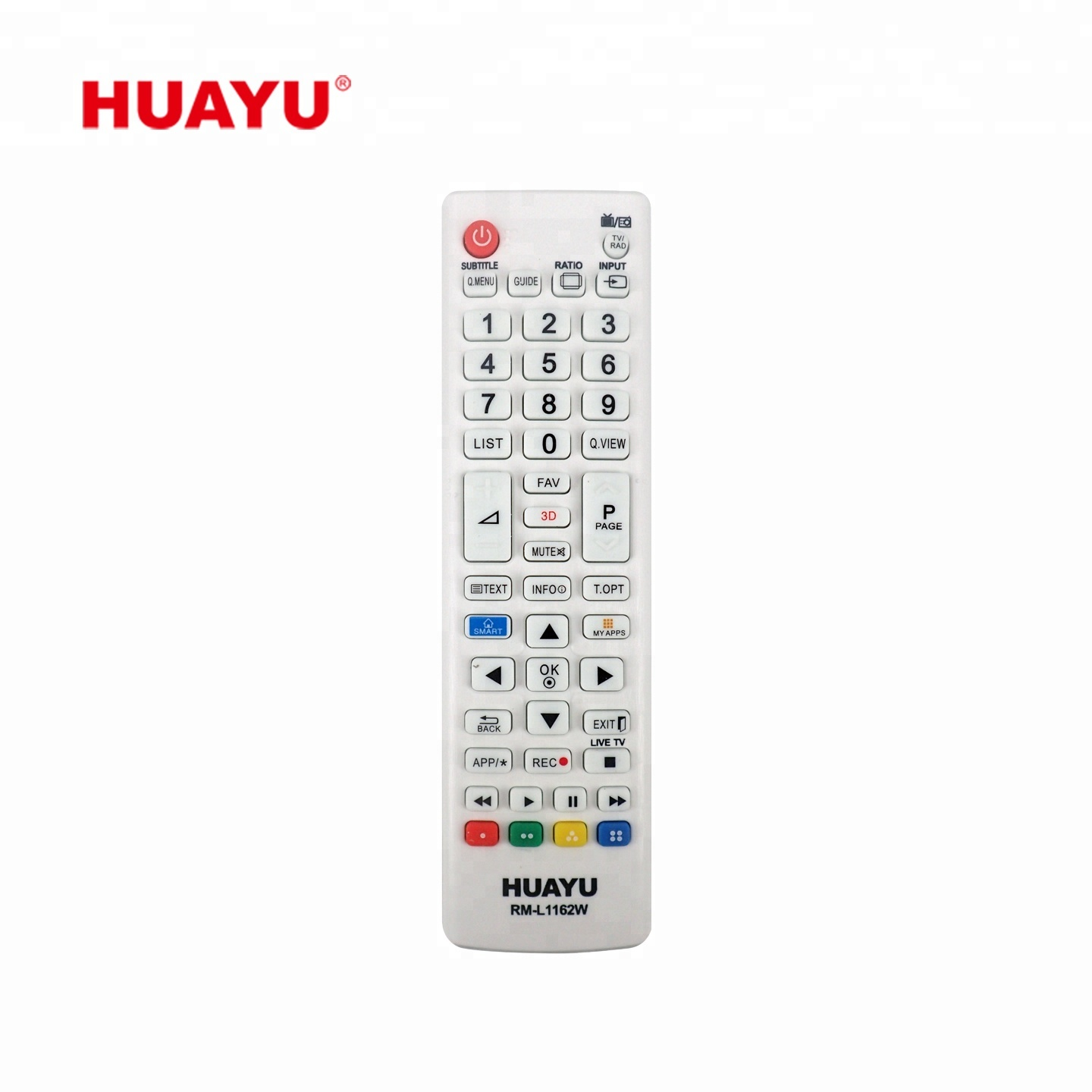 RM-L1162W HUAYU factory price newest universal 3D smart TV remote control  controller use for LG LCD / LED / HDTV, View remote control use for LG,