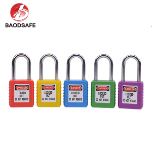 good safety lockout padlock electric meter barrel lock key