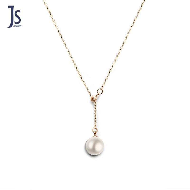 Handpicked AAA+ Freshwater Cultured Pearl Necklace <strong>Pendant</strong> White