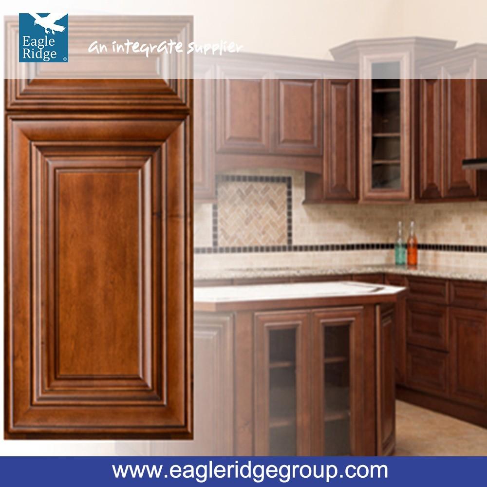 Venta al por mayor gabinetes de cocina color chocolate-Compre online ...