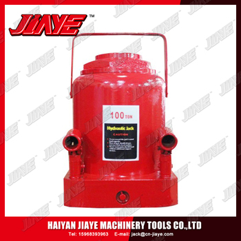 100TON Good quality/heavy Hydraulic bottle jack