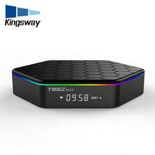 Lastest android 6.0 kodi 16.1 dual band wifi t95z plus great bee tv box