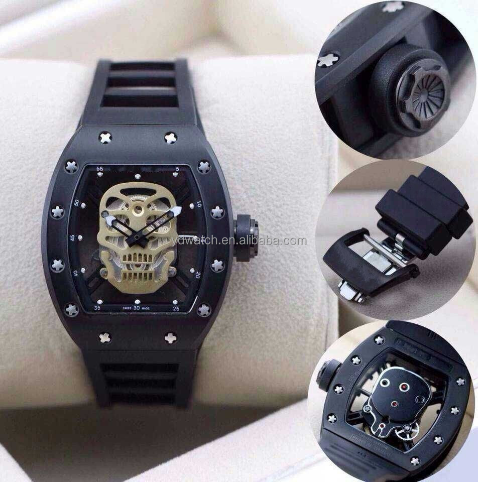 skeleton automatic mechanical watch jaragar automatic watch