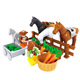 Magical model puzzle flexible prices first geometric animal horse jumps toy brick