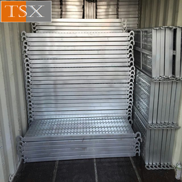 Punched Shoring Metal Plank