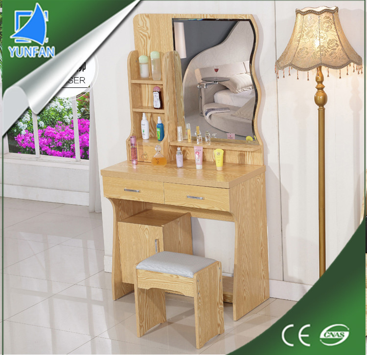 living room furniture mdf dresser furniture dressing table with mirror