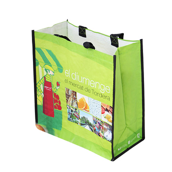 Economic And Efficient recycled polyester woven bag