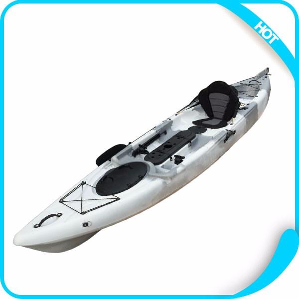 Cheap china plastic canoe fishing kayak with kayak for Cheap fishing kayaks