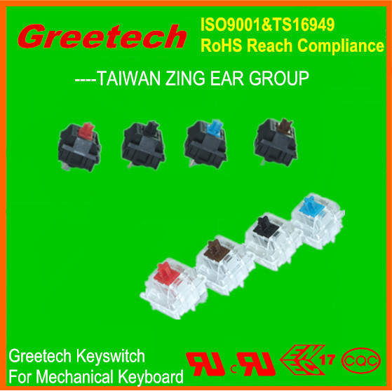 80 million operations, greetech key switch mechanical keyboard switch from china computer accessories