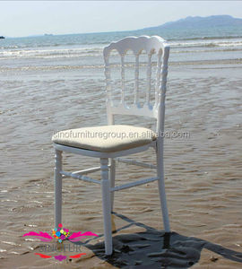 wholesale wooden wedding napoleon chair, chaise napoleon