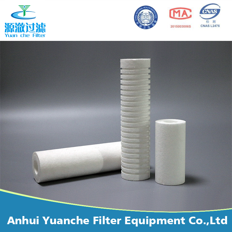 filter supplier 10 micron refillable spun filter cartridge