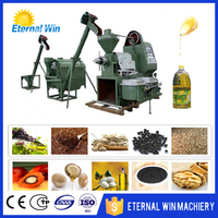 Peanut/Corn germ/Palm/Sunflower Oil Refining Machinery small scale oil production line