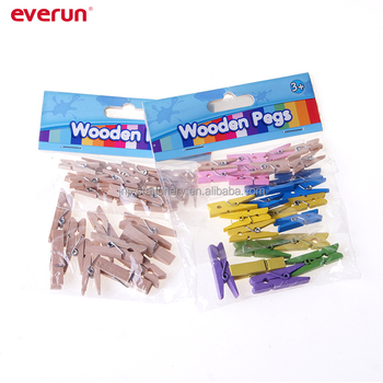 Mini Clothespins Wooden Clips Wooden Clamp For Decoration Buy