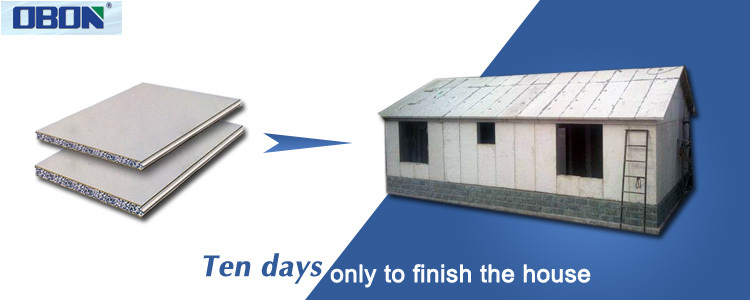 Eco friendly 2 bedroom prefabricated modular houses modern for House panels prefabricated
