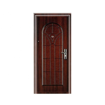 Security exterior position single front door designs