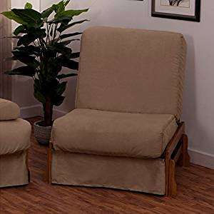 EpicFurnishings Boston Perfect Sit & Sleep Transitional-style Pillow Top Chair Sleeper Natural/Slate