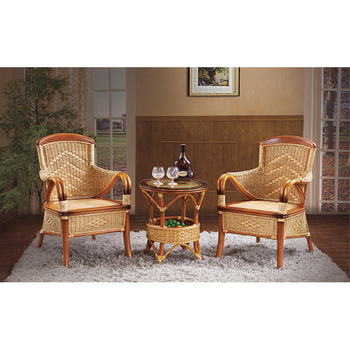 Rattan Chairs Indoor High Back Wicker