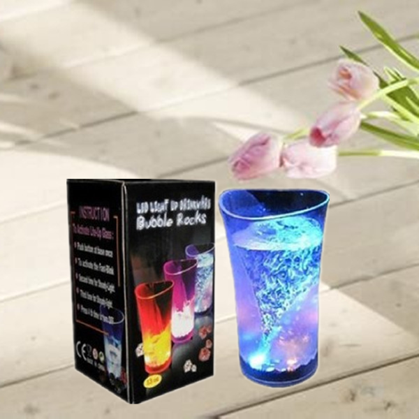 vase plastic light up plastic cup