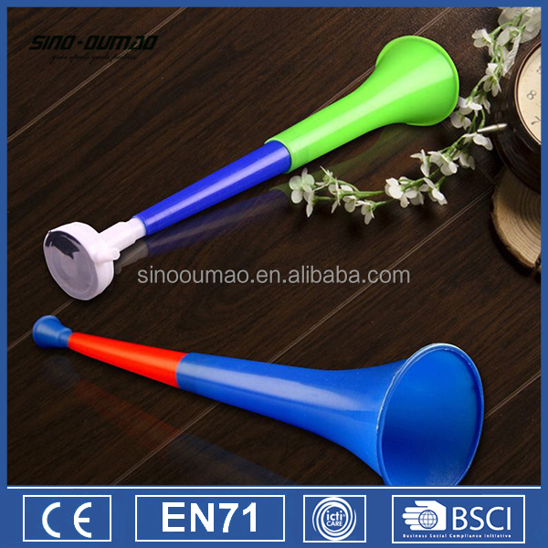 World Cup Horn Trumpet Collapsible Plastic Vuvuzela