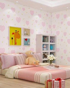 Fantastische Moderne Tapete Rosa Vlies Durable Interior Kinderzimmer Tapete  Für Kinderzimmer - Buy Tapete,Moderne Tapete,Moderne Tapeten Für ...