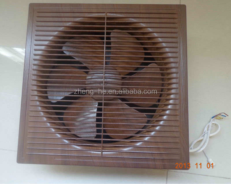 10 Wall Mount Bathroom Exhaust Fan Grills Full Plastic Type With Louver Wood Color Buy