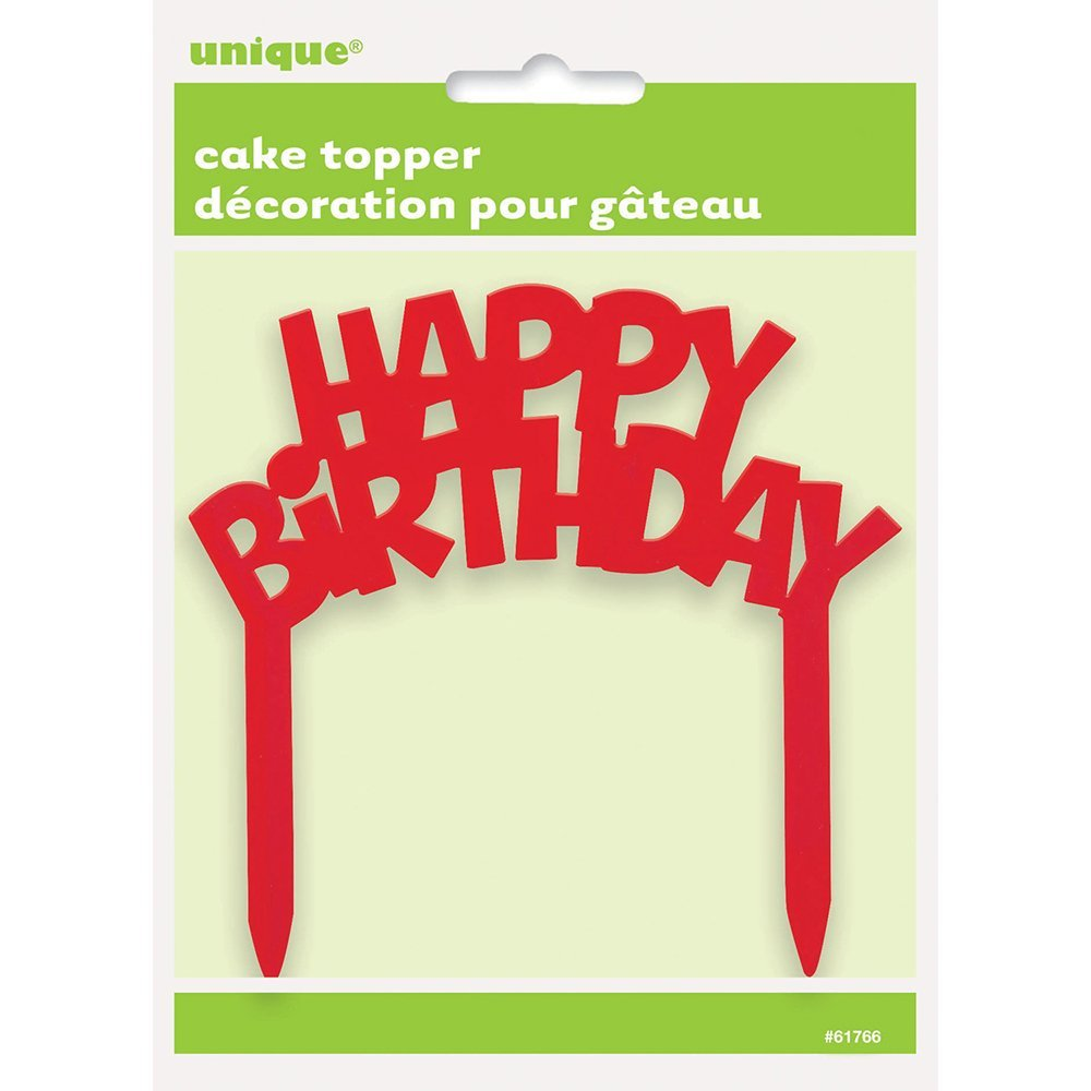 Cheap Plastic Happy Birthday Cake Topper Find Plastic Happy