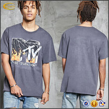 Ecoach fashion graphic tees short sleeve round neck custom 100%cotton men's wholesale graphic t-shirts