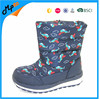 Soft Nylon Warm Plush for Boys Winter Snow Kids Boots