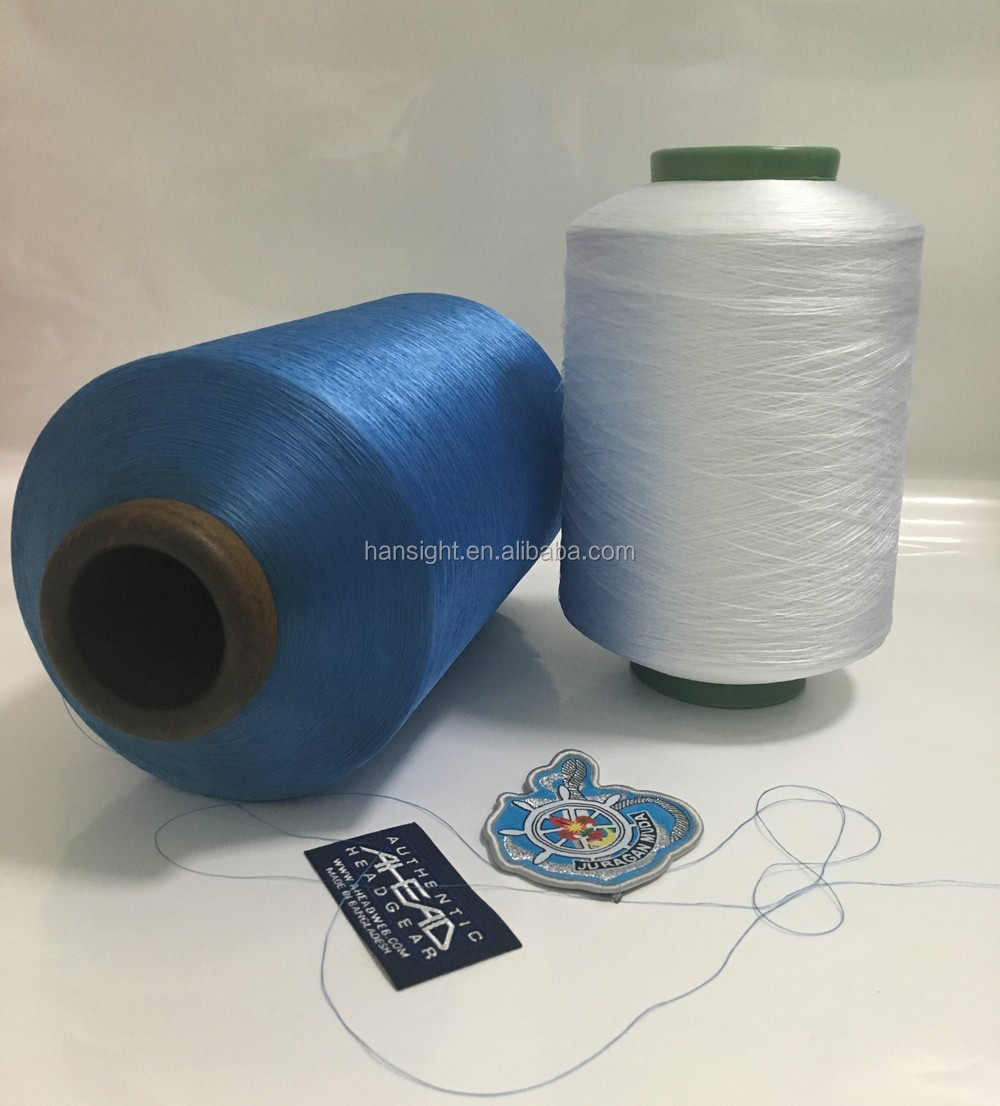 high tenacity 150 / 48 polyester dty yarn for label