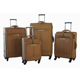 Hot selling 4 pcs set spinner wheels vintage fabric nylon trolley luggage sets travel suitcases