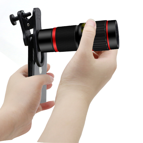 New selling products 2018 mobile phone photography flash manual camera 20x telescope telephoto zoom lens