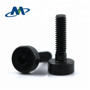 Cross recessed cheese head machine stepped screws